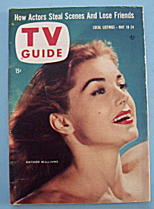 Tv Guide - May 18-24, 1957 - Esther Williams