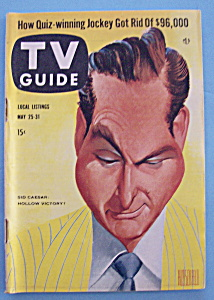 Tv Guide - May 25-31, 1957 - Sid Caesar
