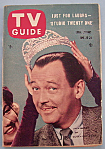 Tv Guide - June 22-28, 1957 - Jack Bailey