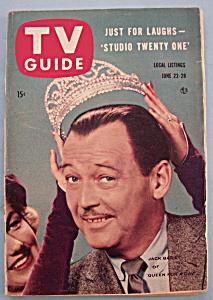 TV Guide - June 22-28, 1957 - Jack Bailey (Image1)