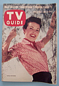 Tv Guide - June 29- July 5, 1957 - Gale Storm