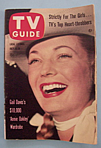 Tv Guide - July 13-19, 1957 - Gail Davis