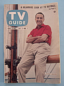 Tv Guide - July 27-august 2, 1957 - Garry Moore