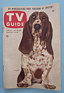 Tv Guide - August 3-9, 1957 - Cleo
