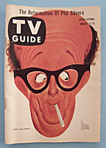 Tv Guide - August 17-23, 1957 - Phil Silvers