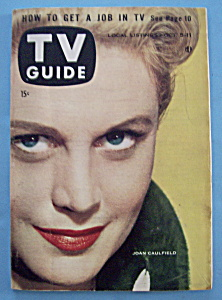 Tv Guide - October 5-11, 1957 - Joan Caulfield
