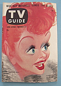 Tv Guide - November 2-8, 1957 - Lucille Ball