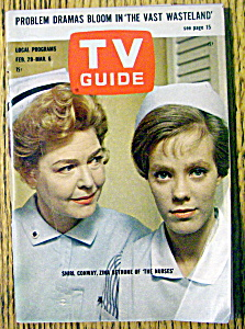 Tv Guide-february 29-march 6, 1964-shirl Conway