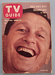 Tv Guide - Jan 4-10, 1958 - Lawrence Welk