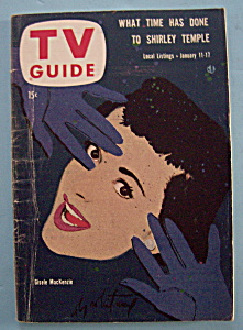 Tv Guide - Jan 11-17, 1958 - Gisele Mackenzie