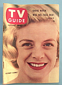 Tv Guide - February 22-28, 1958 - Rosemary Clooney