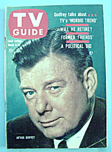 Tv Guide - March 8-14, 1958 - Arthur Godfrey