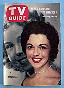 Tv Guide-may 3-9, 1958-shirley Temple