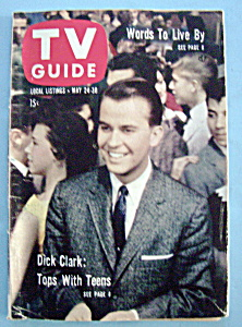 Tv Guide - May 24-30, 1958 - Dick Clark