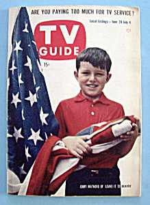 Tv Guide - June 28-july 4, 1958 - Jerry Mathers