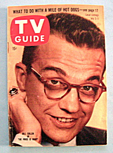 Tv Guide - July 5-11, 1958 - Bill Cullen