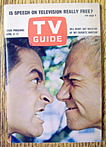 Tv Guide-april 11-17, 1964-bill Bixby & Ray Walston