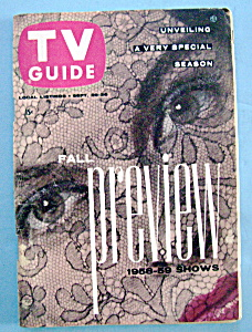 Tv Guide - September 20-26, 1958 - Fall Preview