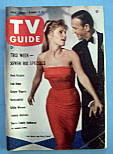 Tv Guide - October 11-17, 1958 - F. Astaire & B. Chase