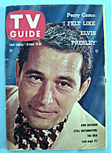 Tv Guide - October 18-24, 1958 - Perry Como