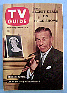 Tv Guide - October 25-31, 1958 - George Burns