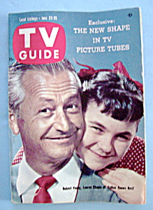 Tv Guide - June 20-26, 1959 - R. Young & L. Chapin