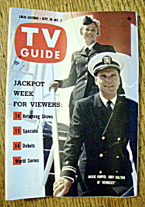 Tv Guide - September 26-october 2, 1959 - Jackie Cooper