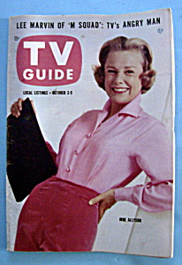 Tv Guide - October 3-9, 1959 - June Allyson