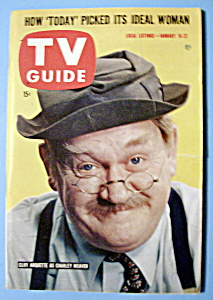 Tv Guide - January 16-22, 1960 - Cliff Arquette