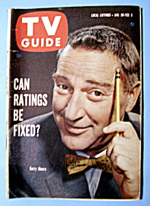 Tv Guide - January 30-february 5, 1960 - Garry Moore