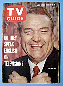 Tv Guide - February 20-26, 1960 - Red Skelton