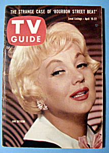Tv Guide - April 16-22, 1960 - Ann Sothern