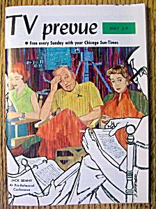 TV Prevue-May 3-9, 1964-Jack Benny (Image1)
