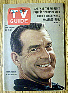 Tv Guide - July 25-31, 1964 - Fred Macmurray