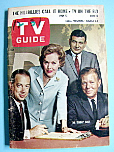 Tv Guide - August 1-7, 1964 - Today Cast
