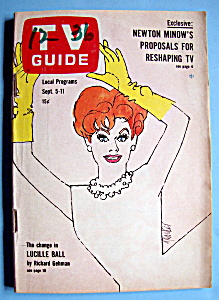 Tv Guide - September 5-11, 1964 - Lucille Ball