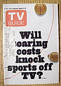Tv Guide - August 9-15, 1969