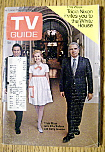 Tv Guide - May 23-29, 1970 - Tricia Nixon