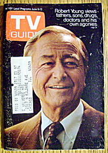 Tv Guide-june 6-12, 1970-robert Young