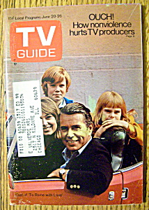 Tv Guide-june 20-26, 1970-to Rome With Love