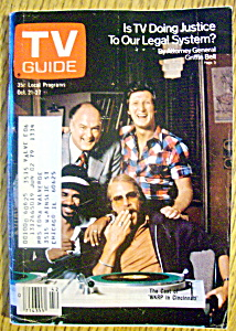 Tv Guide-october 21-27, 1978-wkrp In Cincinnati