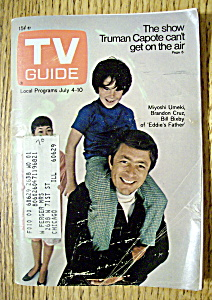 Tv Guide - July 4-10, 1970 - Eddie's Father