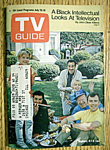 Tv Guide - July 25-31, 1970 - Mayberry R.f.d.