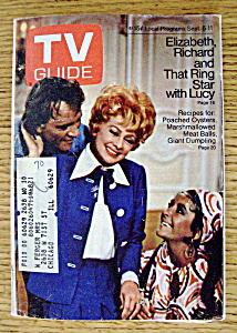 Tv Guide - September 5-11, 1970 - Lucille Ball