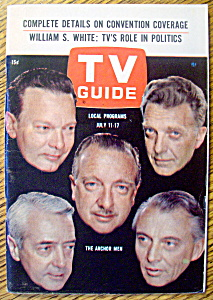 Tv Guide-july 11-17, 1964-the Anchor Men