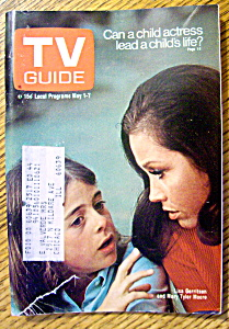 Tv Guide-may 1-7, 1971-mary Tyler Moore