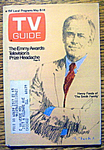 Tv Guide-may 8-14, 1971-henry Fonda