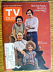 TV Guide-May 29-June 4, 1971-All In The Family (Image1)