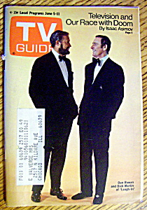 Tv Guide-june 5-11, 1971-dan Rowan & Dick Martin