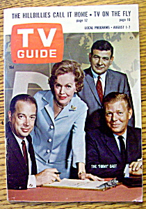 TV Guide-August 1-7, 1964-The Today Cast (Image1)